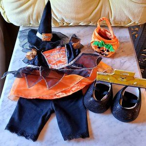 Build-A-Bear Witch Halloween Costume Set